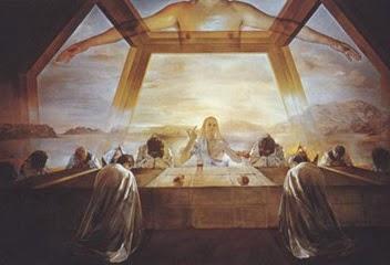 """Dali's """"Last Supper..."""""""