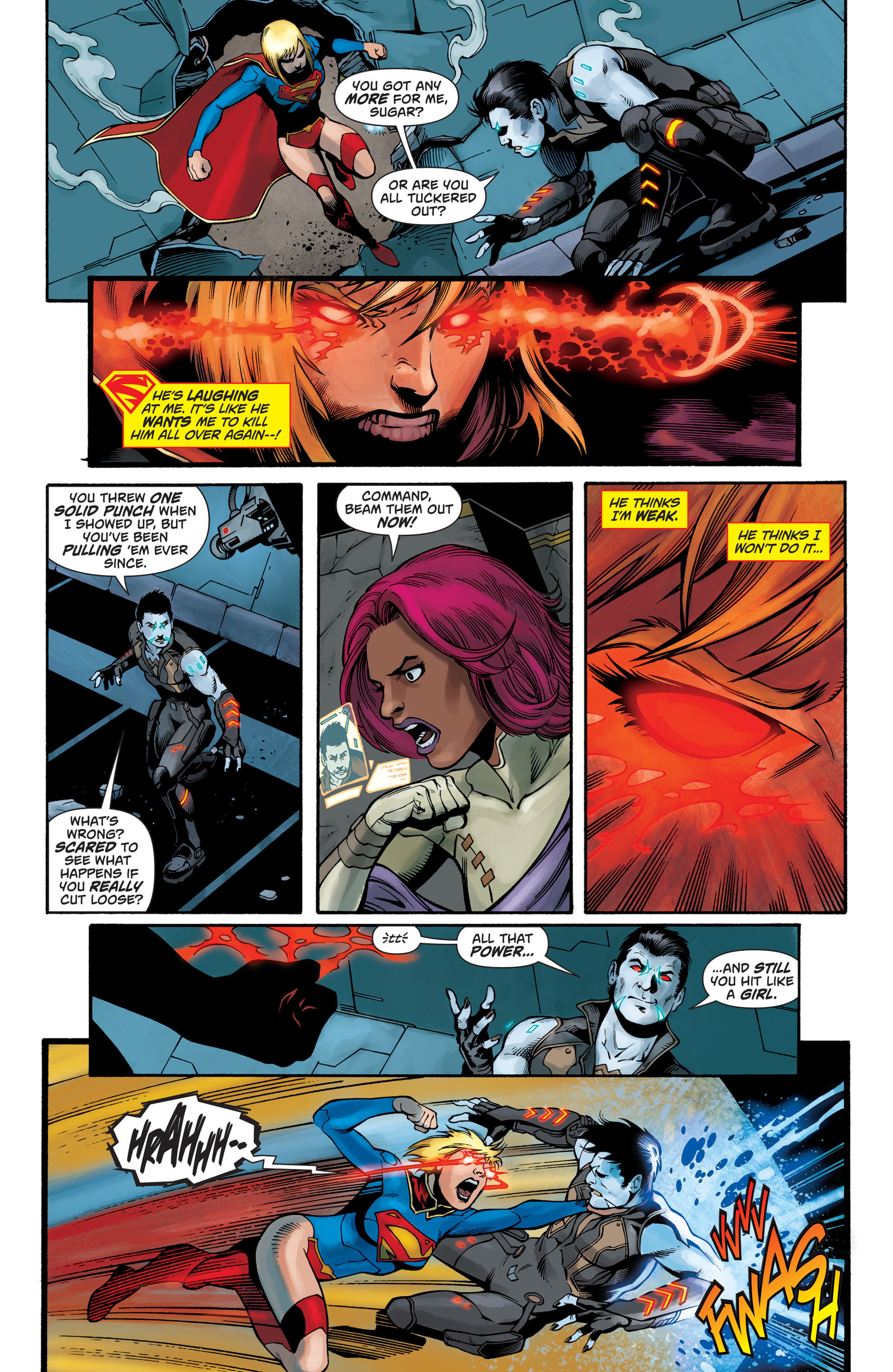 Supergirl (2011) Issue #28 #30 - English 8