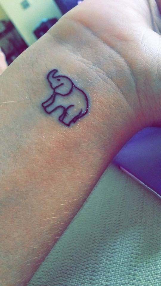 My Elephant Tattoo