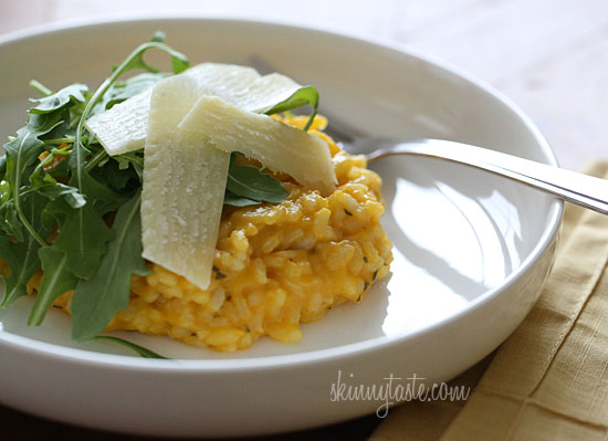 Vegetarian Butternut Squash Risotto