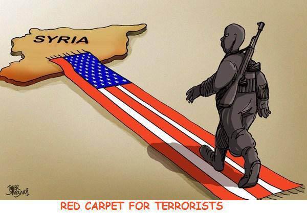 Resultado de imagem para siria terrorista caricatura