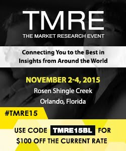 Join us at TMRE 2015 in Orlando!