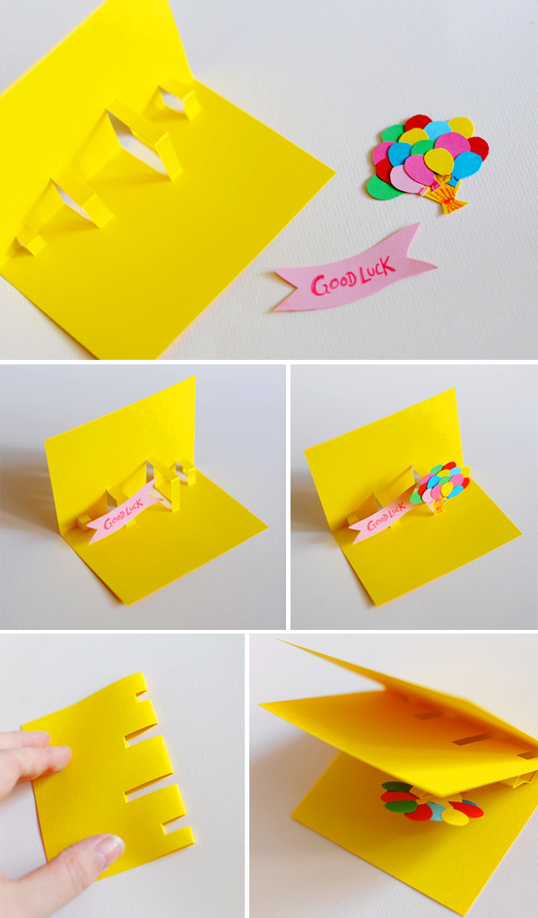 Con Aire Amatista decoracin Y Diseo TARJETAS POP UP