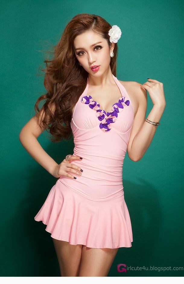 1 Zong Yi Pu - Swimsuit - very cute asian girl-girlcute4u.blogspot.com