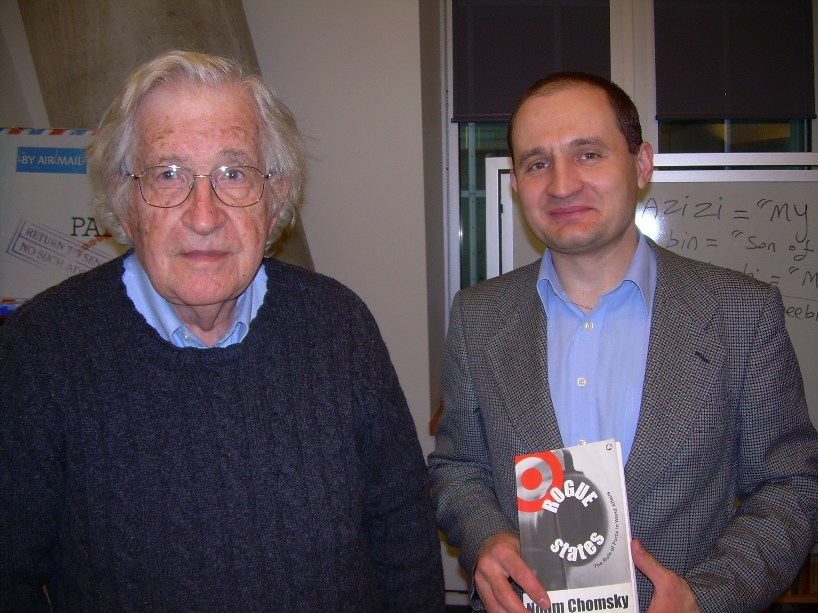 noam chomsky phd thesis Noam chomsky was born on where he received his phd in linguistics the major theoretical viewpoints of the dissertation appeared in the monograph.