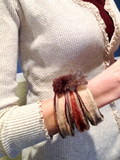 hand-felted bangles