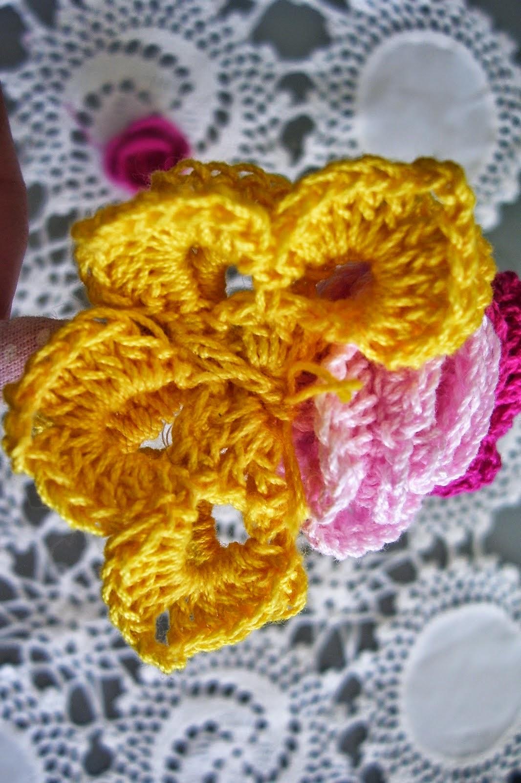 Contemporáneo Patrón De Crochet Mariposa Adorno - Ideas de Patrón de ...