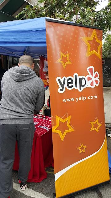 Yelp Booth at Atlantic Antic Festival