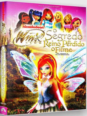 O Clube das Winx: O Segredo do Reino Perdido DVD-R Dual  Áudio