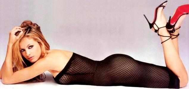 Paulina Rubio en sesión de foto