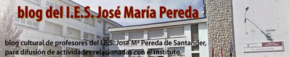 blog del IES José María Pereda