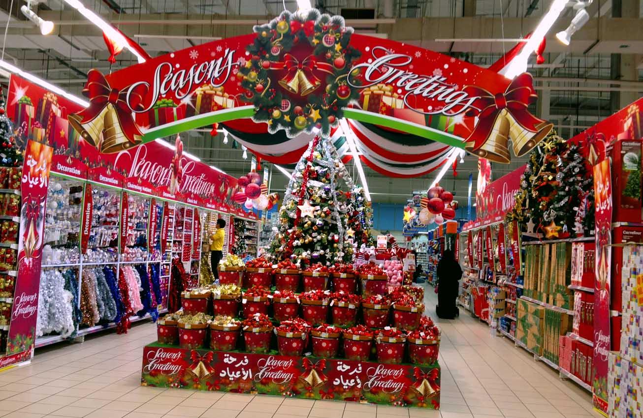 Homemade spooky halloween decorations - Christmas Scraps Christmas Came To Carrefour