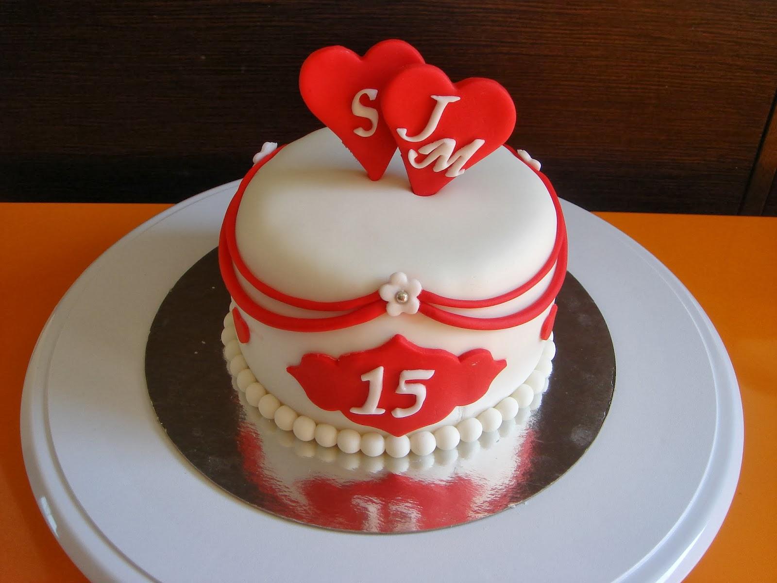 tarta fonfant aniversario