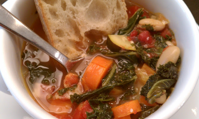 Ribollita (Tuscan Kale and Bean Soup)