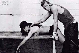 Victoria and Beckham