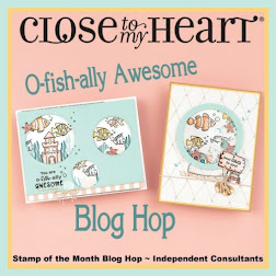 O-fish-ally Awesome -April Stamp of the Month