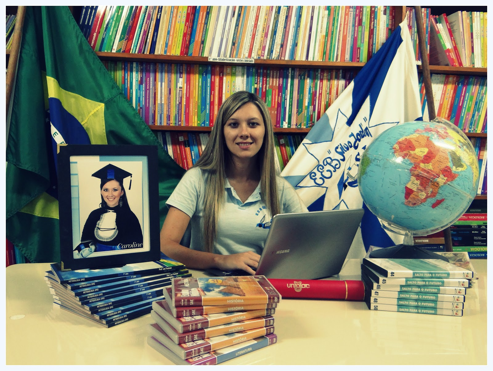 Carol Pereira  Eu e a Escola - Uma história que ainda não terminou... db3e07fcb8538