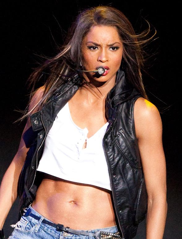 WE GOT MORE BIKINI PICS OF CIARA AND HER BODY WAS AMAZING.