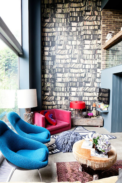 Mix and chic home tour abigail ahern 39 s quirky and for Quirky home interiors