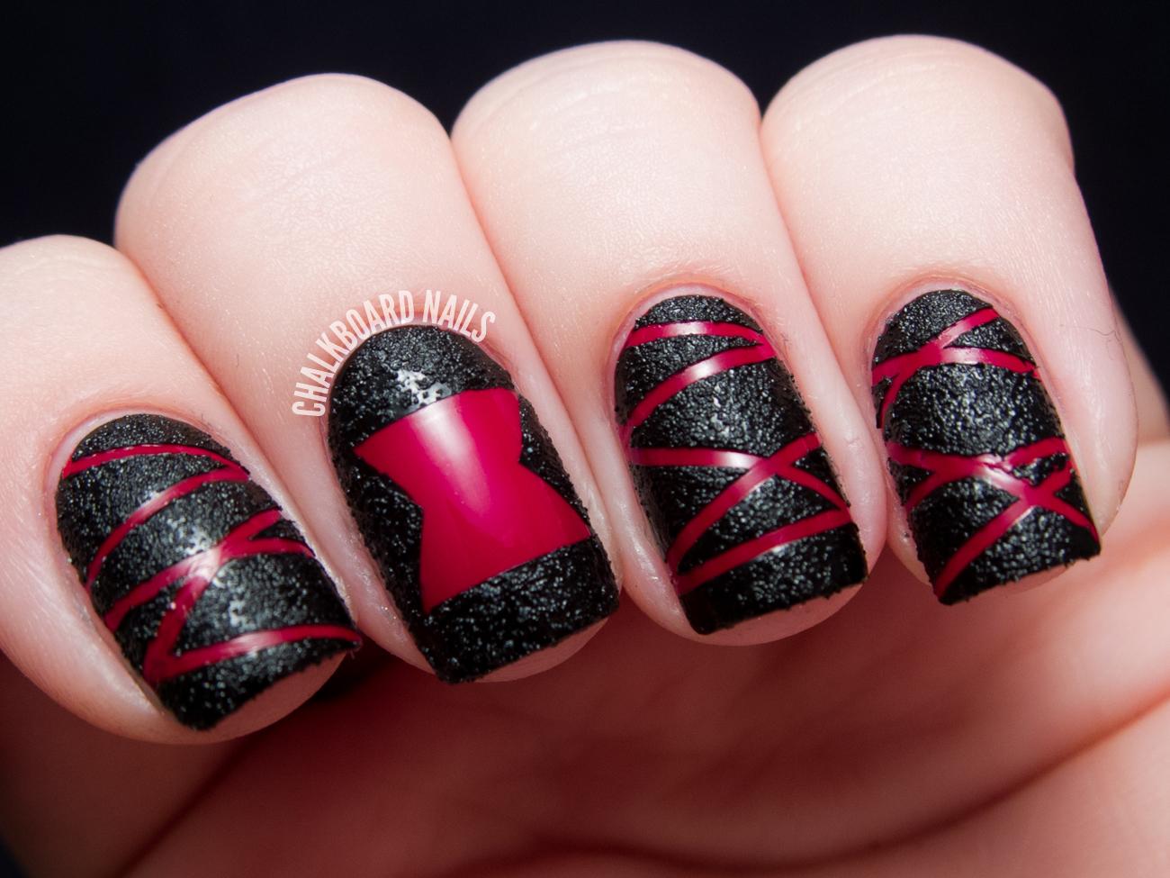blackwidow-nailart-textured-4 Nail Art Black @bookmarkpages.info