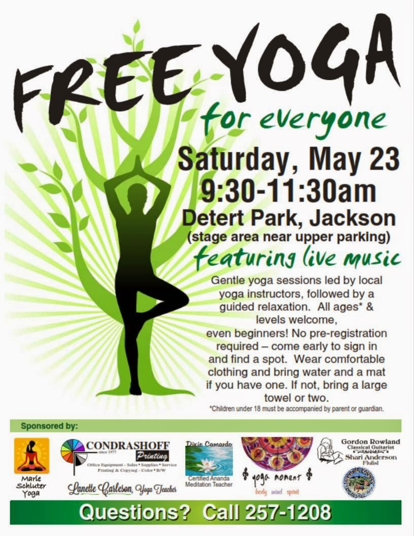 Free Yoga for Everyone - Sat May 23