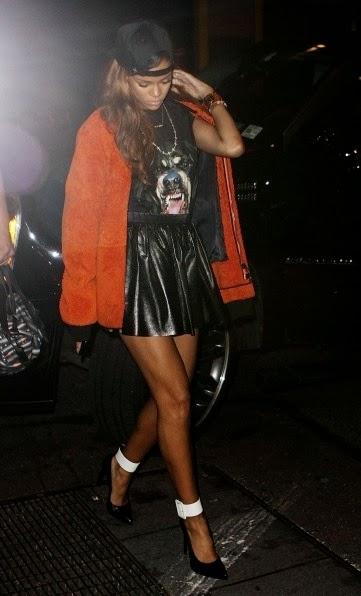 Givenchy Rottweiler Rihanna