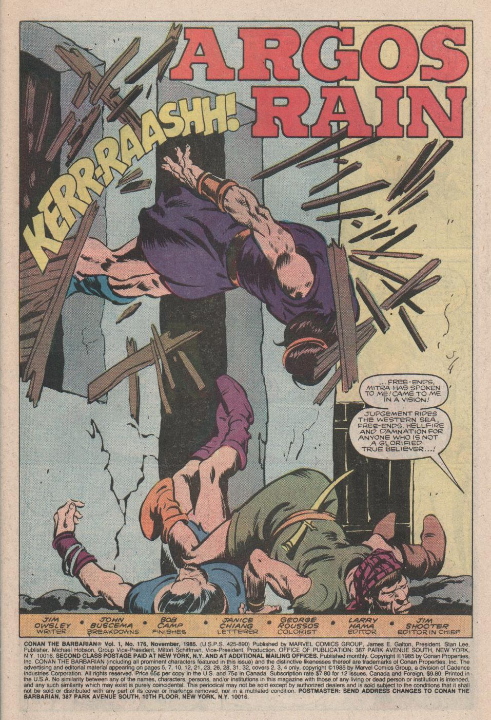 Conan the Barbarian (1970) Issue #176 #188 - English 2