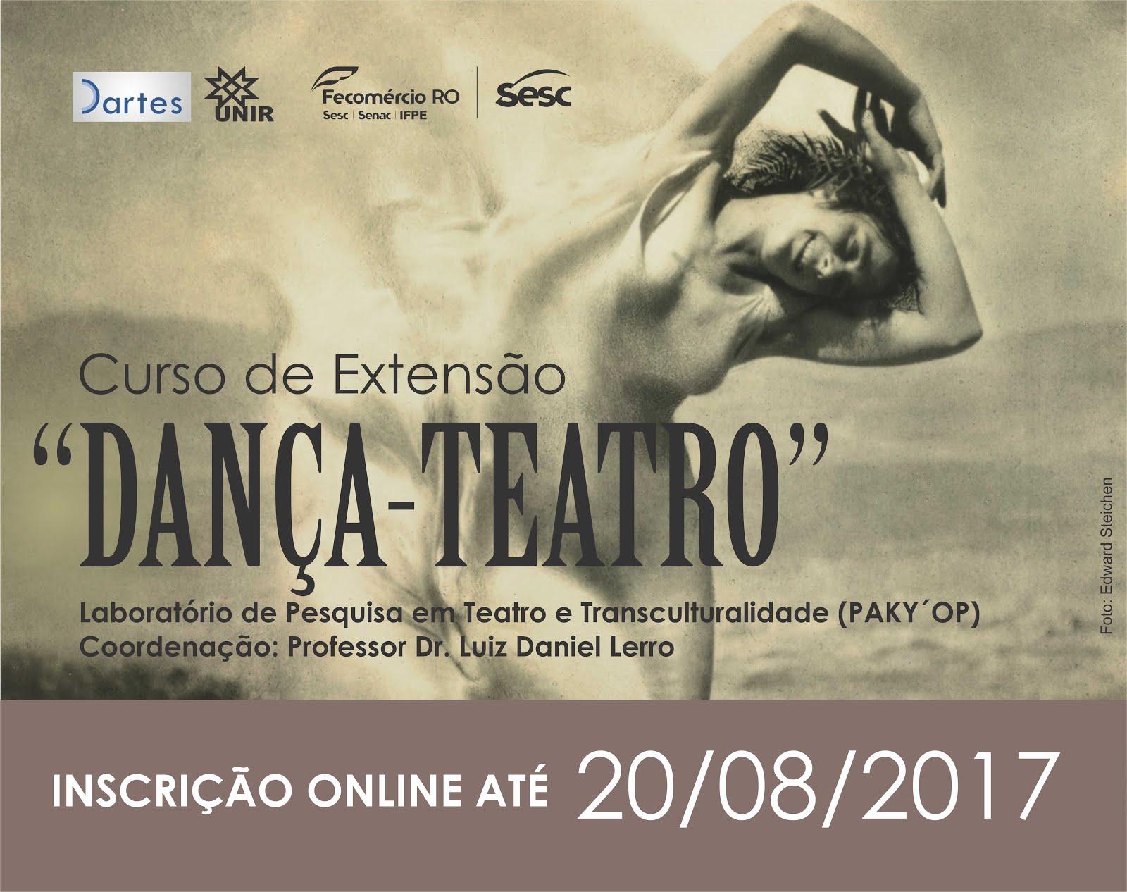 Curso de Extensão Dança Teatro