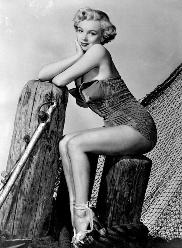 bc63b0e774 40 Iconic Moments of Marilyn Monroe in Bikini and Swimsuit