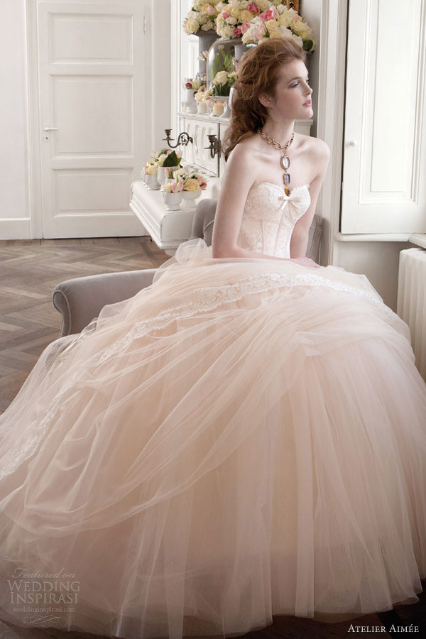 Elegant Wedding Dress Trends Princess 2013 Hairstyles And Fashion