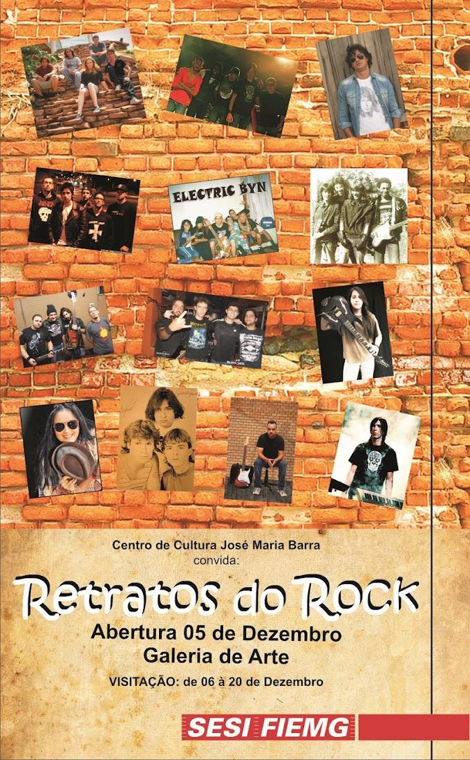 Retratos do Rock - Sesi Minas Uberaba