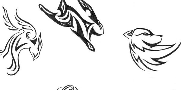 Tribal Animal Tattoos