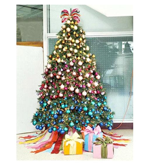 decoracao arvore de natal azul:Liga das Acácias: História e significado da árvore de Natal