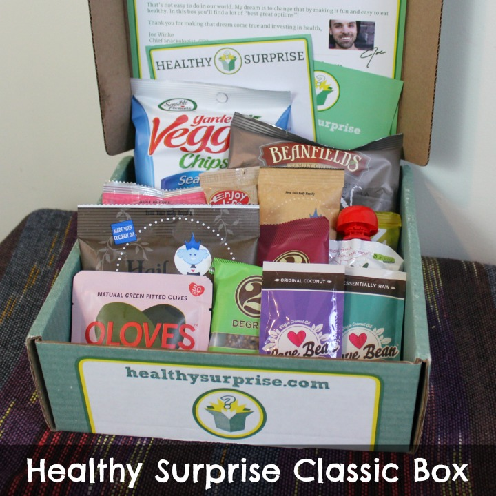 Healthy Surprise Snack Box - Classic Starter Box Review october 2014 unboxing review