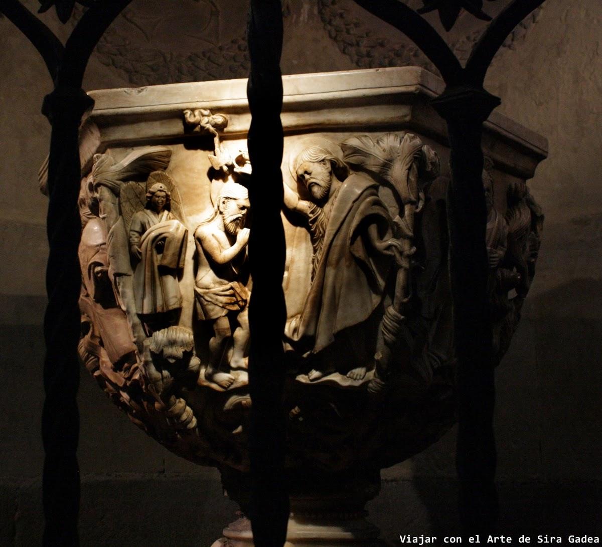 Pila bautismal catedral ávila