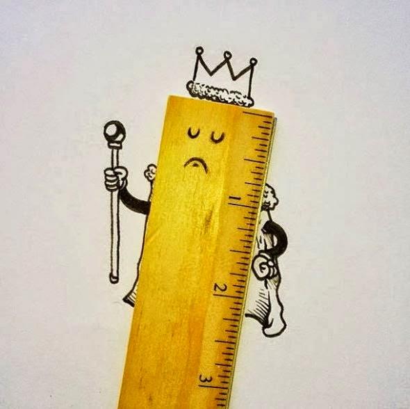 regua,rei imagens criativas - desenhos -