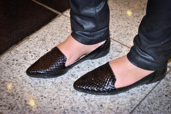slipper, flat preto miti shoes