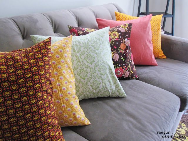 DIY pillow case by Rae gun ramblings