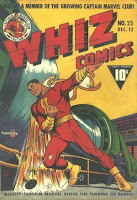 Whiz Comics #25 comic cover