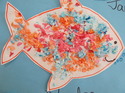 photo of: Toddler fish Bulletin Board