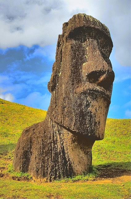 Moai - Easter Island (Rapa Nui) - Chile