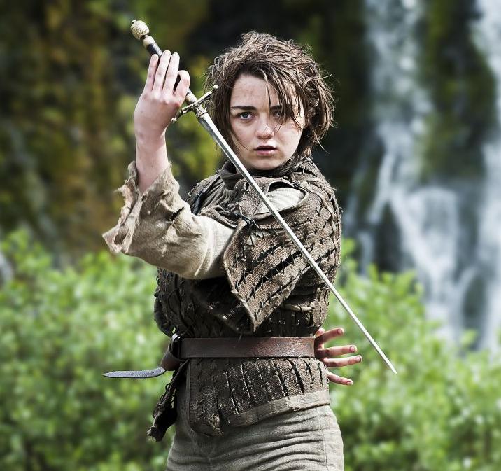 Arya Game of Thrones TOP 10 melhores heroínas da ficção (8 de Março: Dia das Mulheres)