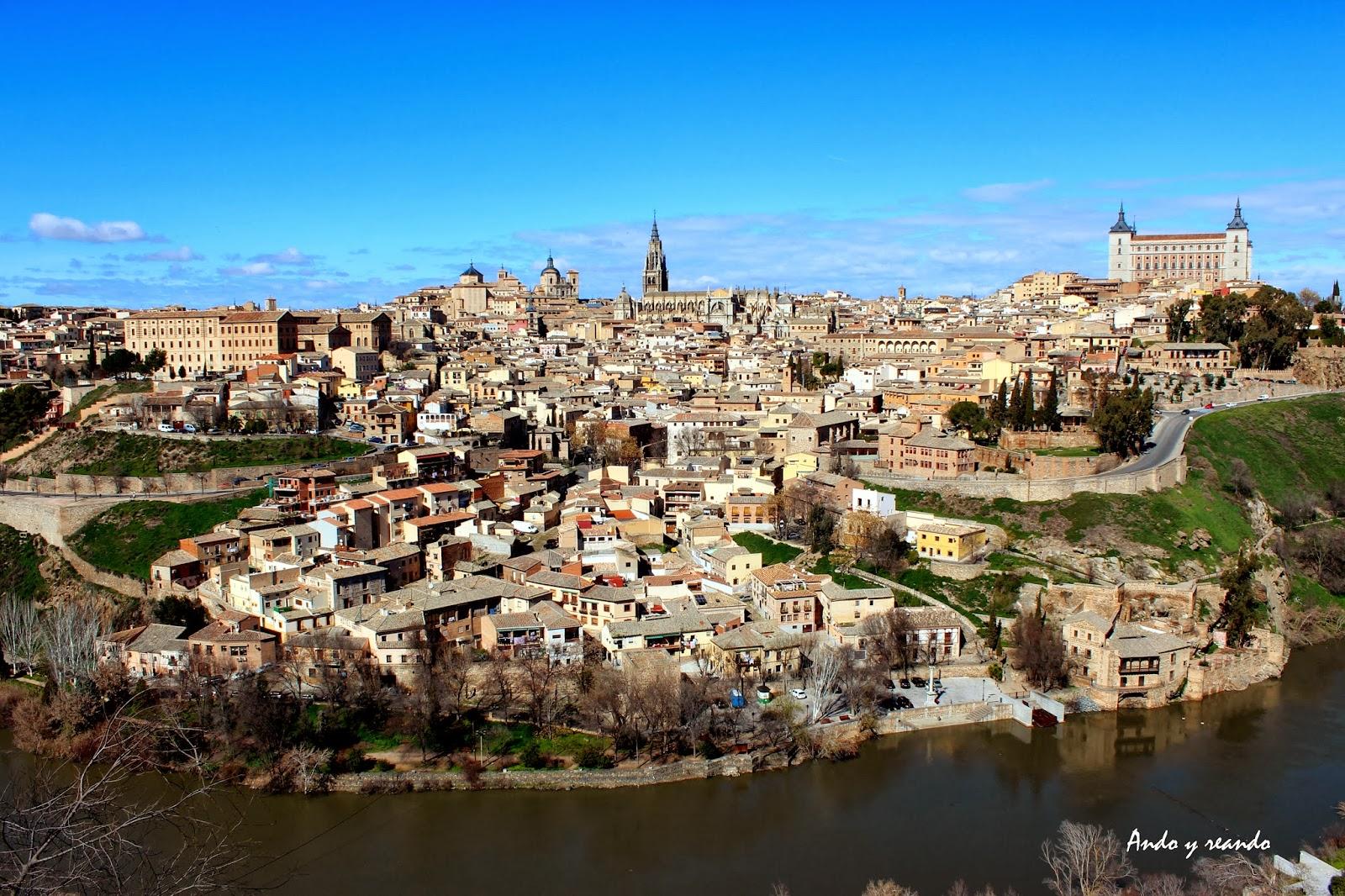 Vista de Toledo y el río Tajo