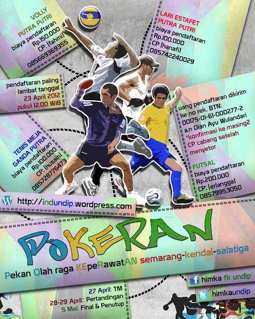poster pekan olahraga