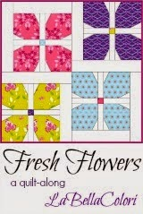 Fresh Flowers Quilt Patten