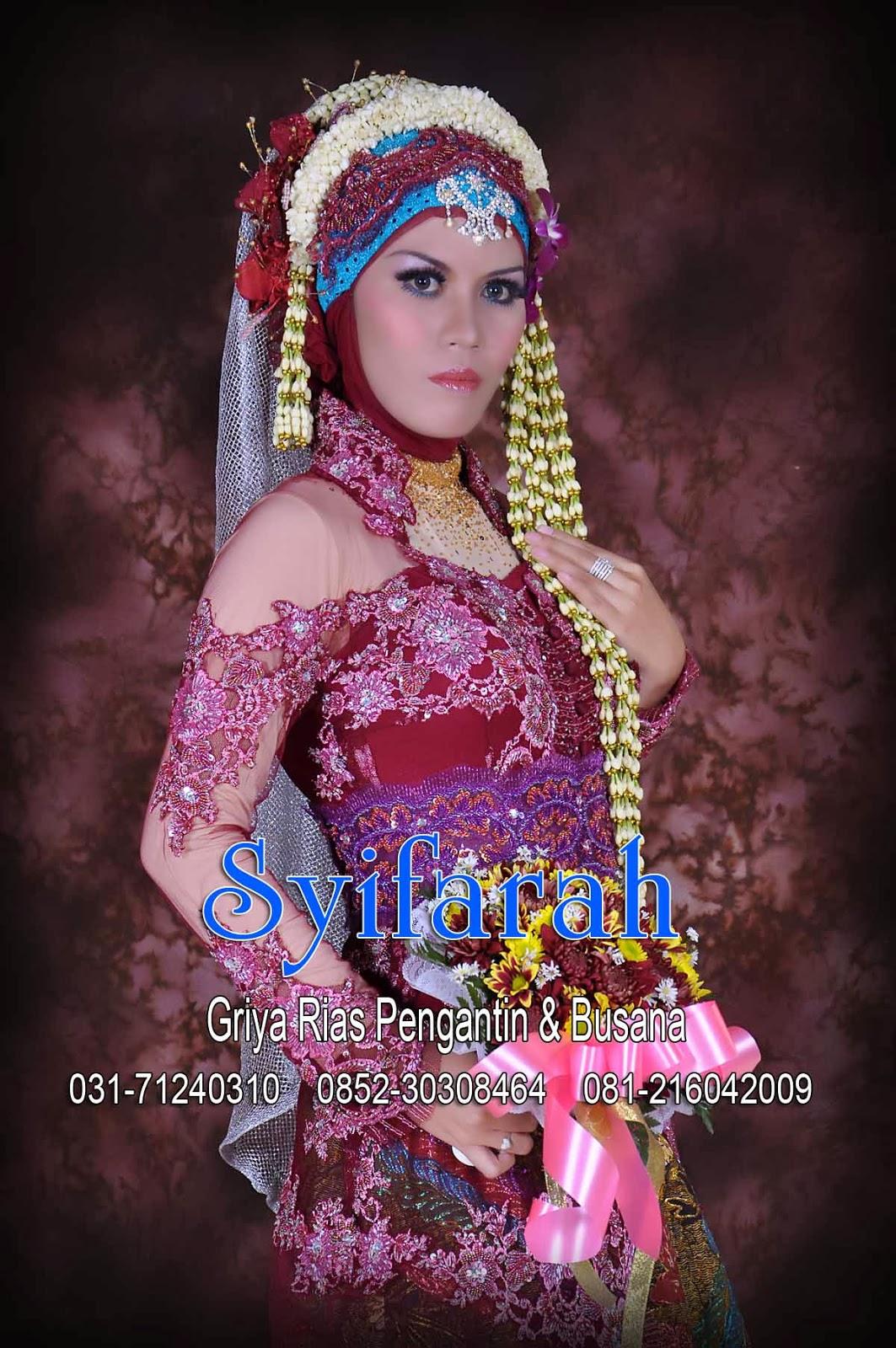 rias pengantin surabaya pengantin muslim syifarah wedding wedding