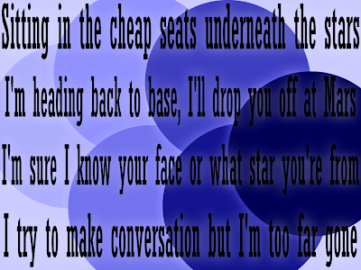Man Machine - Robbie Williams Song Lyric Quote in Text Image