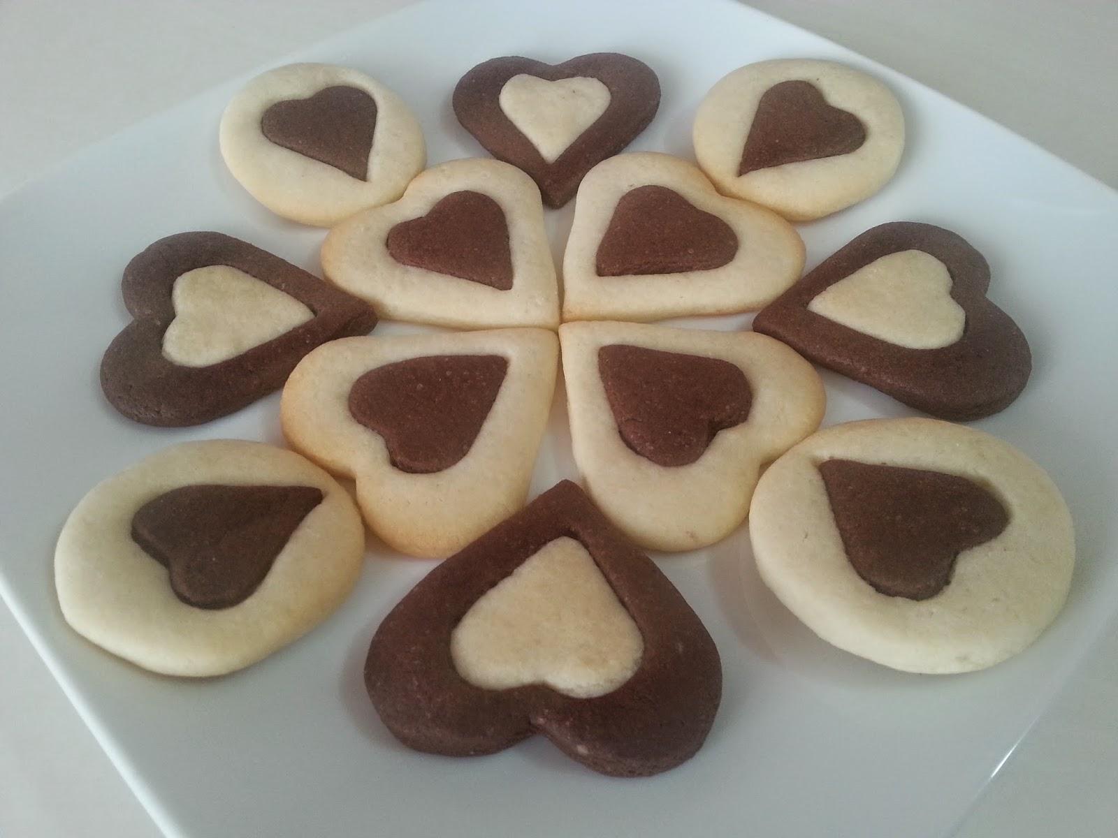 kalp kurabiye,kurabiye,kakaolu kurabiye