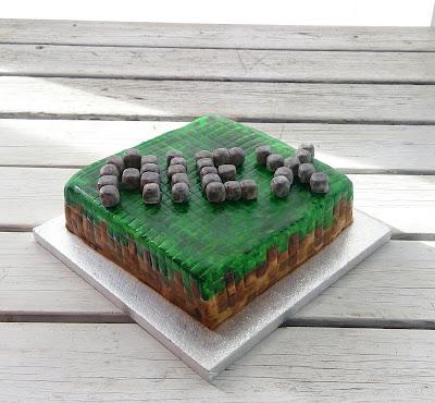 Cake minecraft торт майнкрафт