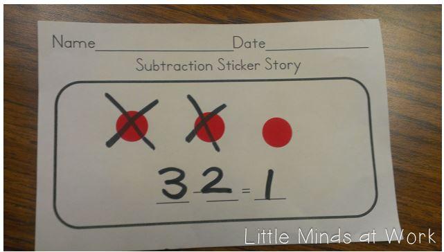 Teaching Subtraction to the Common Core in Kindergarten! - Little ...